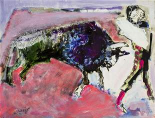 Bernard Lorjou (French,1908-1986) oil painting