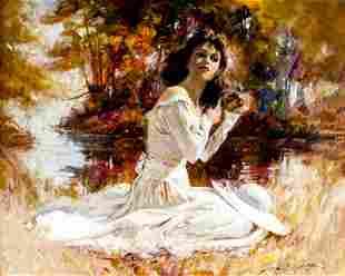 Howard Rogers (AZ,CA,born 1932) oil painting
