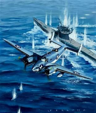 Jack Fellows (WA,born 1941) oil painting