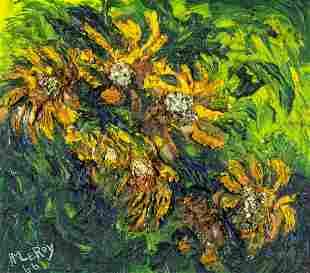 Harold LeRoy (NY,1905-???) oil painting