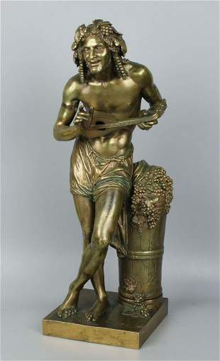 Francisque Joseph Duret (French, 1804-1865) Bronze