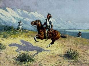 William Meuttman (OH,1869-1948) oil painting