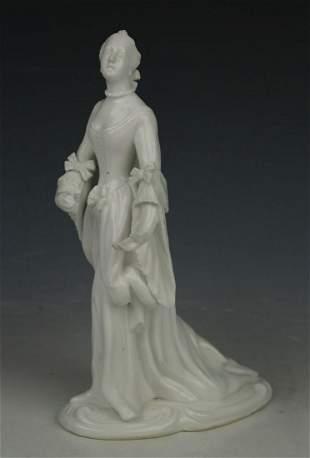 "Nymphenburg figurine ""Lady with Fan"""