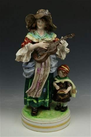 "Rudolstadt Ernst Bohne Sohne Figurine ""Beggars"""