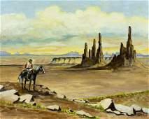 Ferris (US,20C) oil painting antique