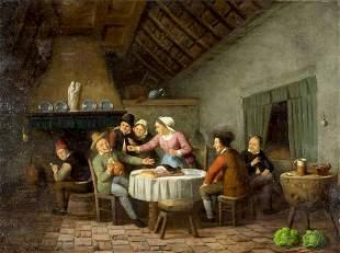 Charles Ferdinand Venneman (Belgian,Dutch,1802-1875)