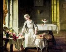 Albert Sorkau (French,1874-1951) oil painting
