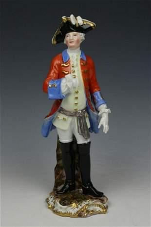 """Meissen Kaendler Figurine 2647 """"Saxon Soldier"""""""