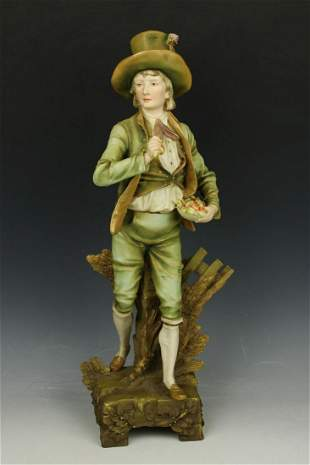 """Ernst Wahliss Turn Teplitz figurine """"Gentleman with"""