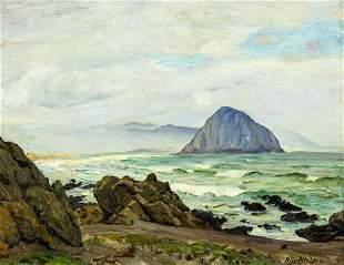 Peter Nielsen (IL,CA,Denmark,1873-1965) oil painting