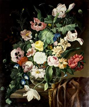 Franz Xaver Pieler (Austria,1876-1952) oil painting