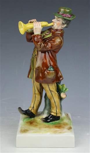 """Rudolstadt Ernst Bohne Sohne Figurine """"Man with"""