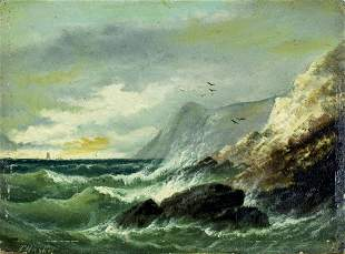 Frederick Haynes (UK,1832-1897) oil painting antique