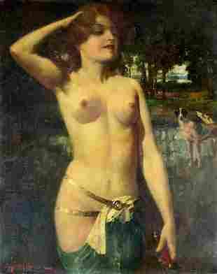 Eugene Ansen Hofmann (Germany,Austria,1862-1955) oil