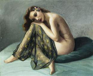 Joan Mayor (French,1890-1970) oil painting