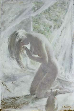 Thornton Utz (FL,TN,1914-1999) watercolor painting