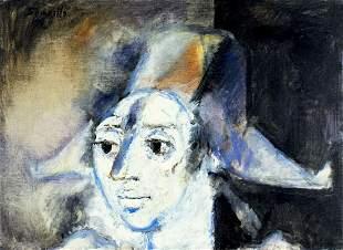 Roger Somville (Belgium,1923-2014) oil painting