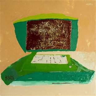 Andrzej Zielinski (MO,Polish,b 1976) oil painting
