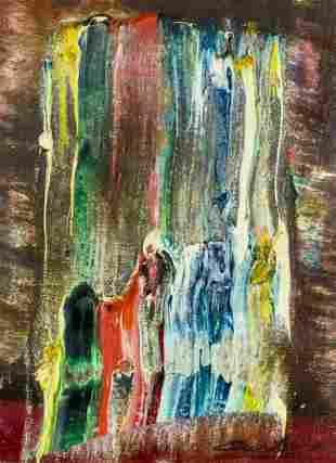 Norman Carton (PA,NY,France,1908-1980) oil painting