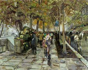 Vladimir Lazarev (Russia,France,1904-1988) oil painting