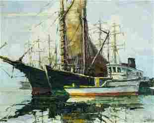 Stanley A Cookson (CA,WA,1908-1995) oil painting