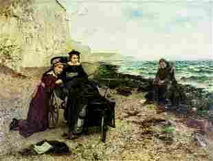 William Henry Bartlett (Irish,1858-1932) oil painting