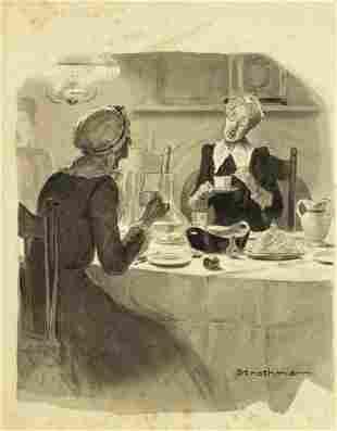 Frederick Strothmann (New York,1879-1958) watercolor