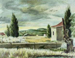 Jack Greitzer (OH,FL,1910-1989) oil painting