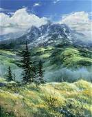 Douglas Oliver (AZ,OH,b 1942) oil painting