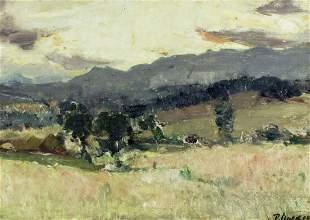 Peter Robert Macleod Mackie (UK,1867-1959) oil painting