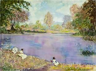 Dimiter Hristoff (Turkey,Bulgaria,1926-?) oil painting