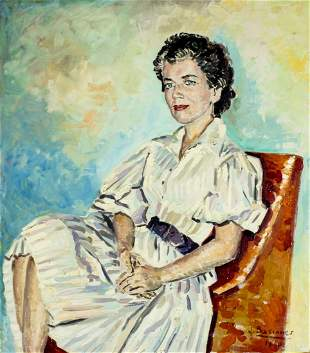 Jose Bascones Ayneto (Spain,1927-2014) oil painting