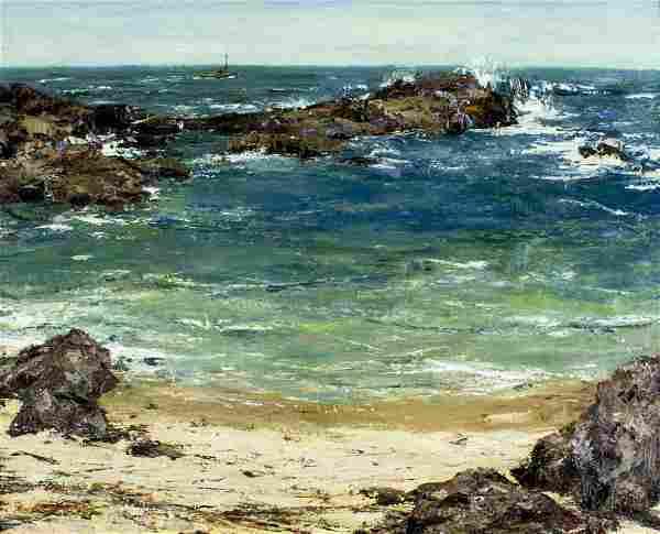 Burt Procter (CA,MA,1901-1980) oil painting