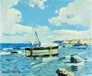 Jose Paya Sanchis (Spain,?-1984) oil painting