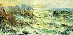 Giorgio Sangio (Italy,b 1936) oil painting
