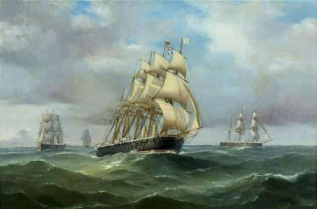 Tommaso De Simone (Italy,1805-1888) oil painting