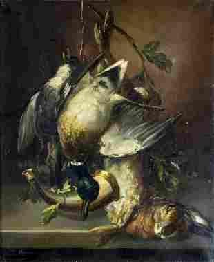 T Veyras (Europe,19C) oil painting antique