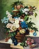 JJ Pannecho (Europe,19C) oil painting