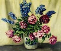 Pauline Williams (MA,FL,1888-1962) oil painting