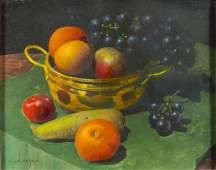 Lion Arie Feijen (UK,born 1947) oil painting
