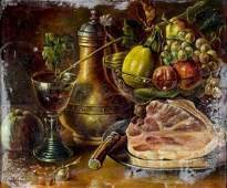 Amy G Ulrich (WA,?-1966) oil painting antique