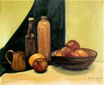 Blanche Bennett (CA,20C) oil painting