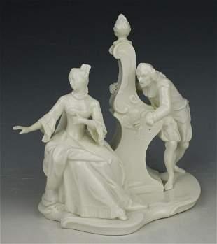 "Nymphenburg Bustelli figurine 70 ""Love Letter"""