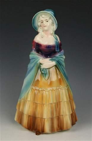 "Katzhutte Porcelain figurine 267 ""Lady with Shawl"""