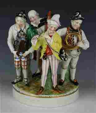 "Capodimonte Figurine ""Four Musicians"""
