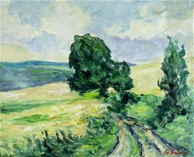 Otto Heinsius (German,1892-1976) oil painting