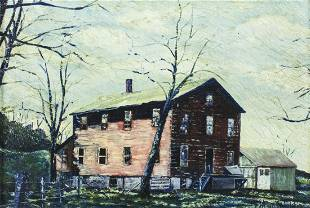 Phillip Felchlin (American,early 20C ) oil painting