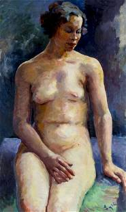 W L Lytle (NY,20C) oil painting
