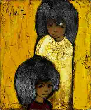 Jef Wauters (Belgian,1927-2013) oil painting
