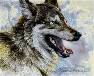 Lee Kromschroeder (CA,20C) oil painting